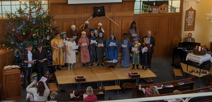 Junior Church Nativity and Toy Service 2019